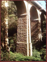 Knapsack Viaduct, Lapstone, Blue Mountains.