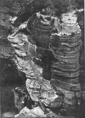 Furber Steps in 1908