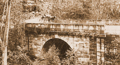 Lennox's Bridge, Blue Mountains