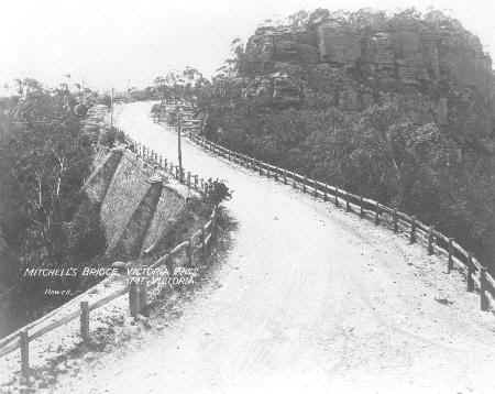 Mitchell's Bridge, Mt Victoria, Blue Mountains, Australia